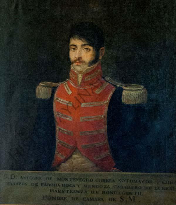 Antonio Manuel Montenegro y Correa. Señor de Castrelos y Hombre de Cámara de S.M. el rey Fernando VII.